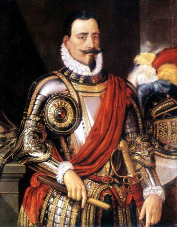Π�δρο δε Βαλντίβια, πίνακας του 16ου αιώνα