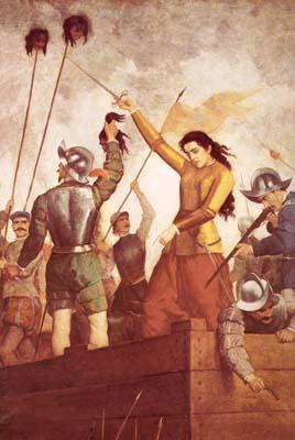 Πίνακας του José Mercedes Ortega Pereira (1856-1933)