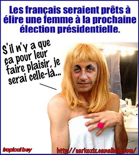 Και η… Νικόλ Σαρκοζί, η… γυναίκα που προτιμούν οι Γάλλοι για πρόεδρο