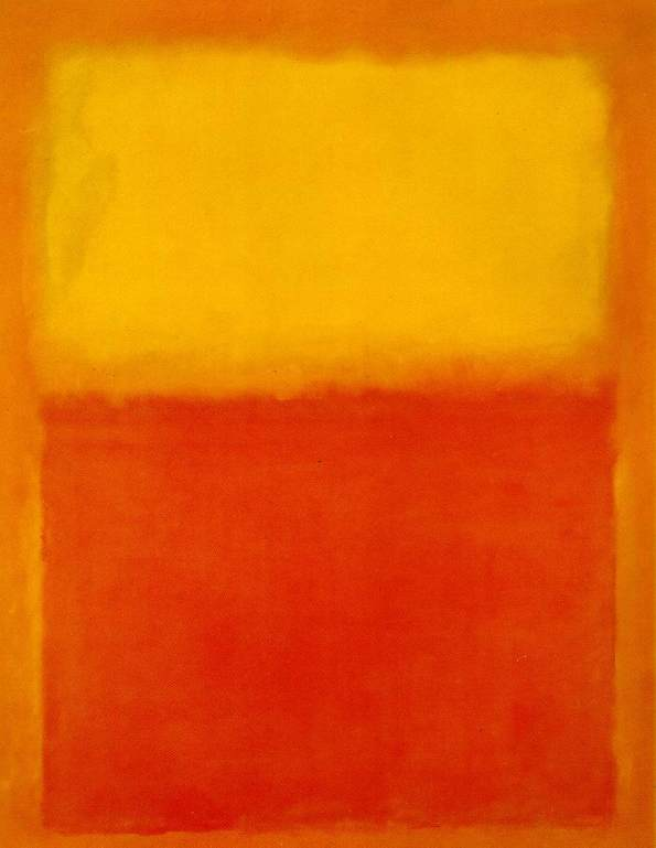 Rothko's Orange and Yellow
